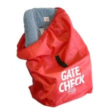 Jl Childress Gate Check Bag for Car Seat for Newborn and Above (red)