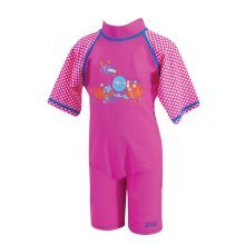 Sun Protection Swimsuit Pink 2-3 years