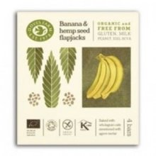 Doves Farm - Free From Banana & Hemp Seed Flapjack Multipack (35gx4) x 7