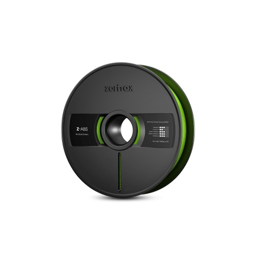 Zotrax 10530 Z-ABS Filament, 1.75 mm, 800 g, Android green