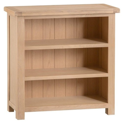 Langham Lime Washed Oak Furniture Small Bookcase