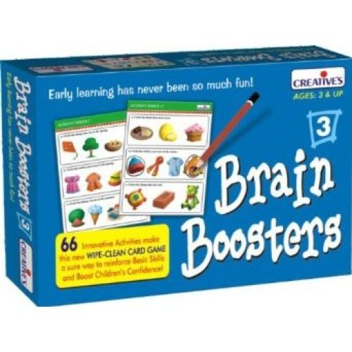 Creative Pre-school Brain Boosters 3 Game - Cre1019 Preschool -  cre1019 creative preschool brain boosters 3