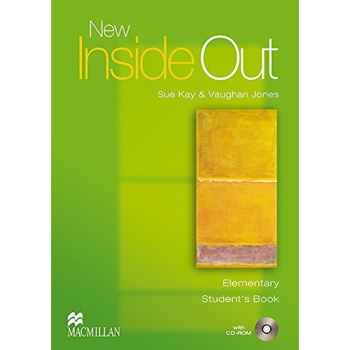 New Inside Out: Student's Book with CD ROM Pack: Elementary
