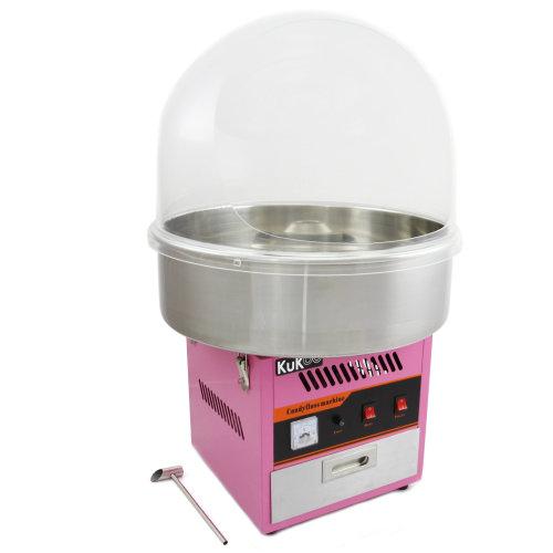 KuKoo Candy Floss Machine & Protective Dome