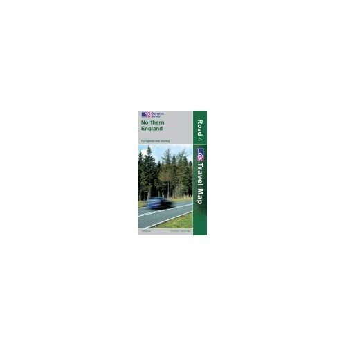 Northern England (OS Travel Map - Road Map)