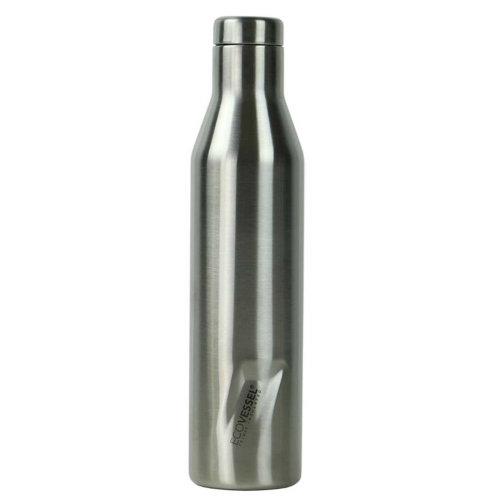Ecovessel Aspen 750ml Hot Cold Drinks Water Wine Bottle Silver Express