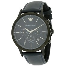 Emporio Armani Leather Mens Watch AR2481