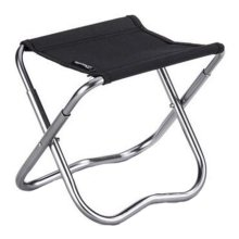 Portable Folding Chair Stool Camping Chairs Fishing Train Travel Paint Outdoor, Black