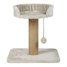 Mica Scratching Post With Plush Cover Post Wrapped In Jute Height: 46cm - Cat -  scratching cat kitten post sisal surfaces catnip hours fun 6 designs