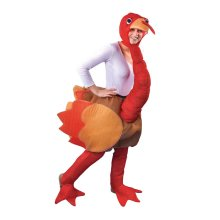 Adults Turkey Full Body Costume -  costume turkey fancy dress adult animal outfit christmas mens one size unisex
