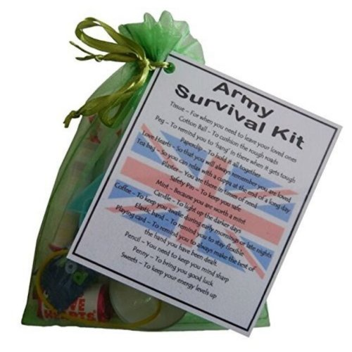 Army Novelty Survival Kit Gift  -