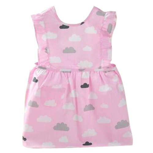 Lovely Baby Aprons Waterproof Gowns Painting Cotton Clothing