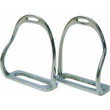 Bent Leg Safety Stirrups: 5 inch