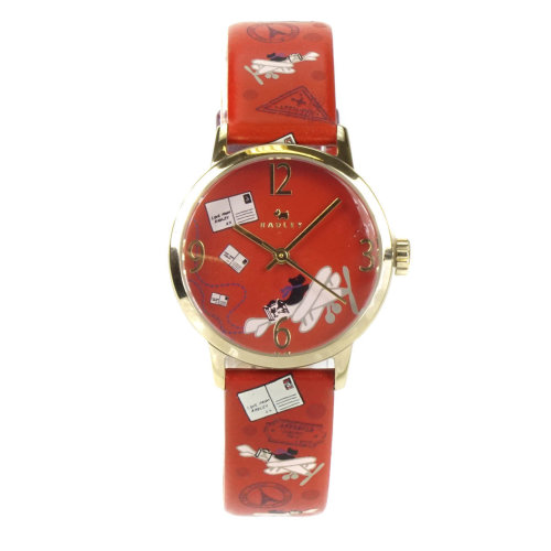 Radley Travel Airmail Red Leather Ladies Watch RY2258