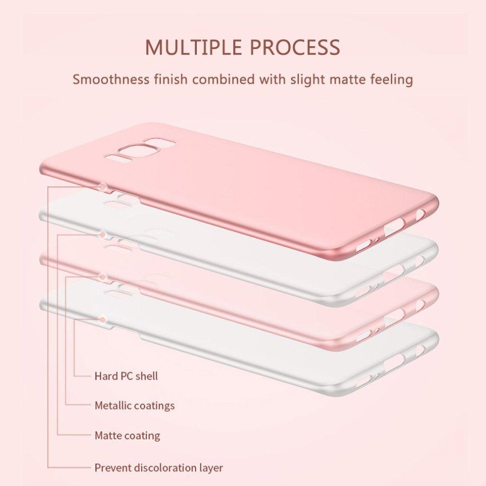 30e63bacccce ... Samsung Galaxy S8 Plus Case, AILRINNI [Perfect Fit] Ultra Thin & Light  Hard ...