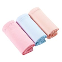 Set Of 3 Cotton Adjustable Stomach Hold High-waisted Maternity Underwear, XXL