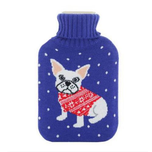 Warm Cute Hot-Water Bottle Water Bag Water Injection Handwarmer Pocket Cozy Comfort,C