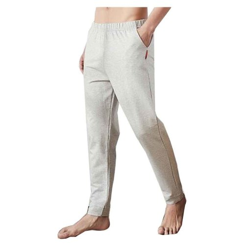 Cotton Men's Sweatpants Men's Pajamas Men's Sweats for Spring Autumn [I]