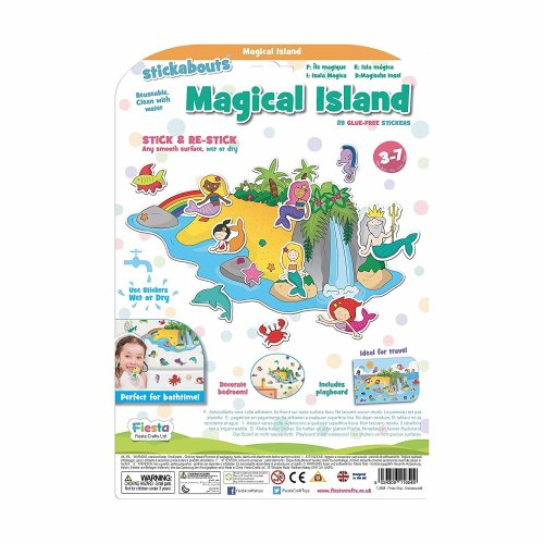 Magical Island Stickabouts