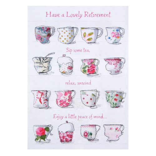 Hallmark Retirement Card 'Lovely Retirement'- Medium