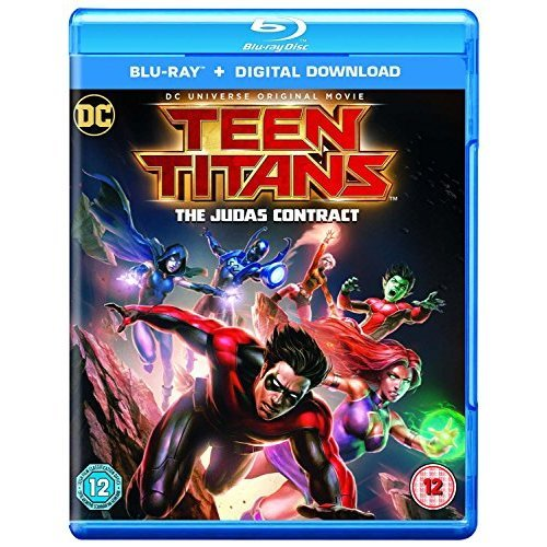 Teen Titans Judas Contract [Blu-ray   Digital Download] [2016] [DVD]