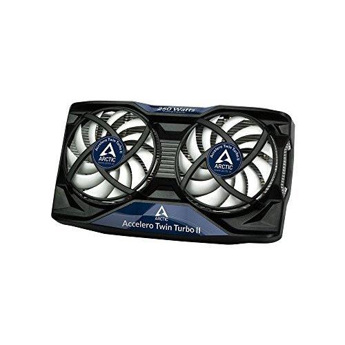 ARCTIC Accelero Twin Turbo II VGA Cooler nVidia AMD Dual Quiet 92mm PWM Fans SLICrossFire
