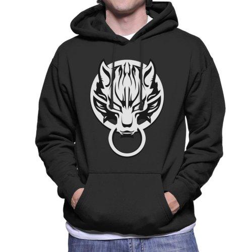 Final Fantasy Logo Chibi Men's Hooded Sweatshirt