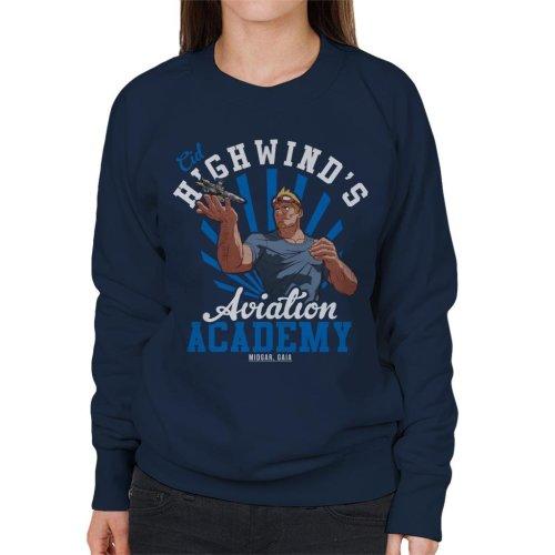 Cid Highwinds Aviation Academy Women's Sweatshirt