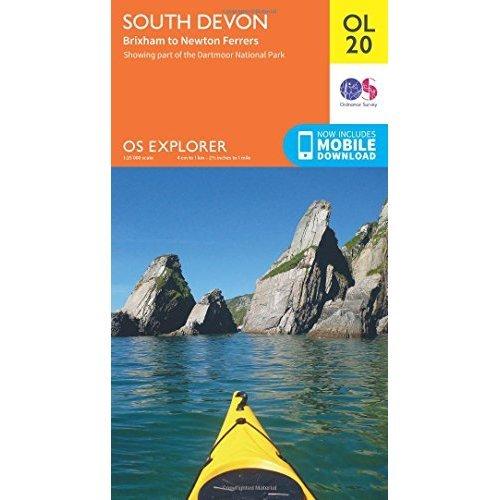 OS Explorer OL20 South Devon, Brixham to Newton Ferrers (OS Explorer Map)