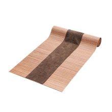 Japanese Style Table Decor Bamboo Table Runner Mat Tea Curtains-A4