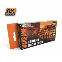 Ak01552 - Ak Interactive Set German Dunkelgelb Set