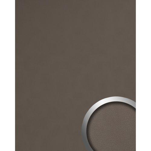 WallFace 19024 DOVE TALE Wall panel leather look matt brown 2.6 sqm