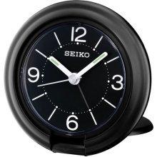 Seiko Travel Alarm Clock, Black (QHT012K)