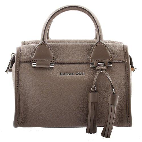 Michael Kors Geneva Large Leather Satchel - Cinder - 30F6STXS1L-513