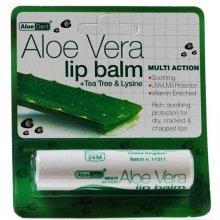 Aloe Dent Aloe Vera Lip Balm with Tea Tree & Lysine 4g