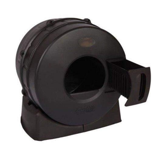 Smart Choice Pet Products 3033 Litter Spinner Cat Litter Box, Black
