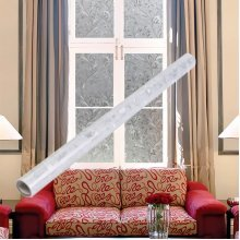 Waterproof PVC Frosted Window Sticker Glass Film Home Bedroom Bathroom Privacy