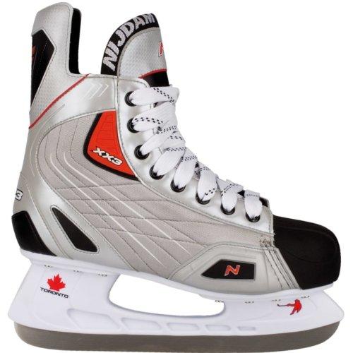 Nijdam Ice Hockey Skates Size 38 Polyester 3385-ZZR-38