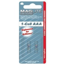 Maglite Solitaire Aaa Replacement Bulbs. Twin Bulb Pack