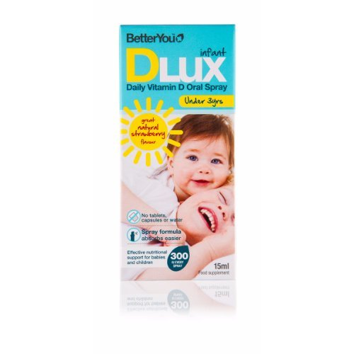 Better You  Dlux Infant Vitamin D Oral Spray 15ml