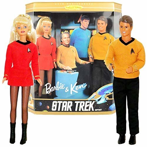 Barbie Collectibles - Barbie and Ken Star Trek Giftset