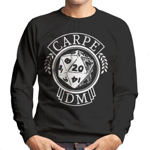 Dungeons And Dragons Carpe DM Men's Sweatshirt