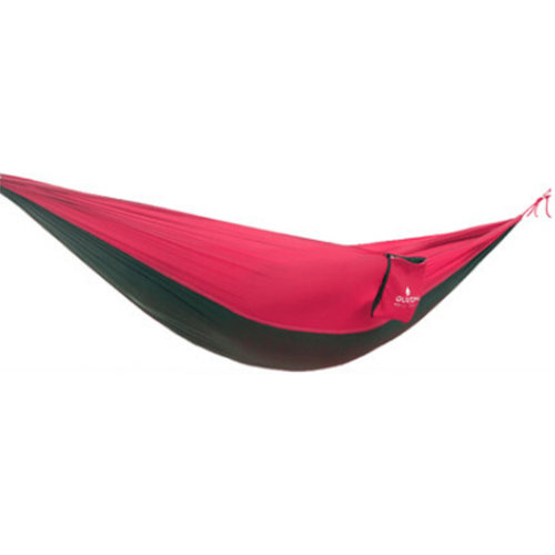 Multifunctional Camping Hammock Hanging Bed Double Size[2.6*1.3m]Red/Black