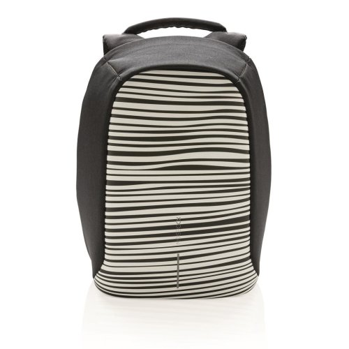 Bobby Compact Backpack - Zebra | Small Anti-Theft Backpack