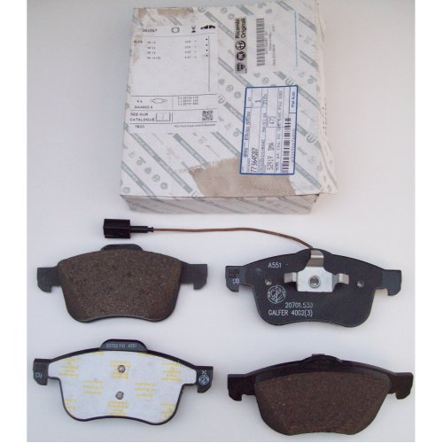Alfa Romeo Spider Brera 159 Genuine Front Brake Pad Set 77364587