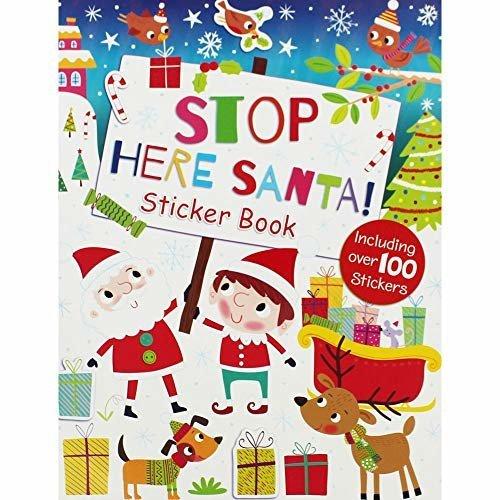 i-Read Stop Here Santa Sticker Book