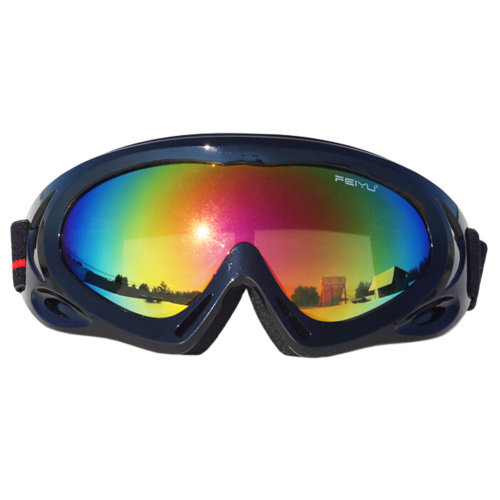 Sports Safety Sunglasses Antifog Eyewear Cycling Driving Skiing Goggles Black