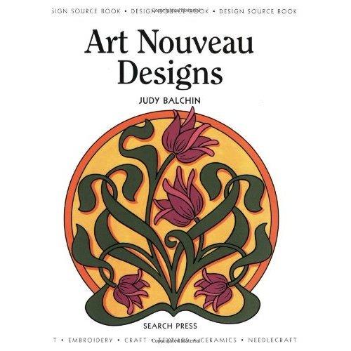 Design Source Book 01: Art Nouveau Designs (DSB01) (Design Source Books)