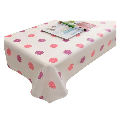 Elegant Stain-resistant Tablecloth Oilproof Tea Table Cloth 100x140 CM,P3