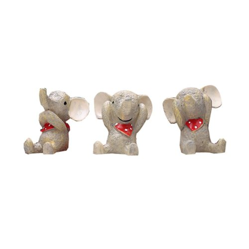 Set of 3 Cute Animal Decoration Good Gift for Kids,1.6''
